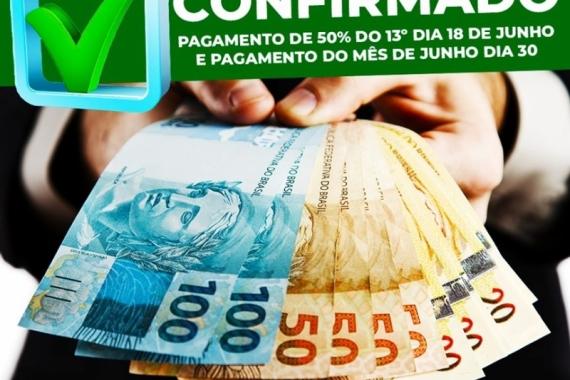 Prefeitura de Pilões antecipa primeira parcela do 13º salário dos servidores municipais