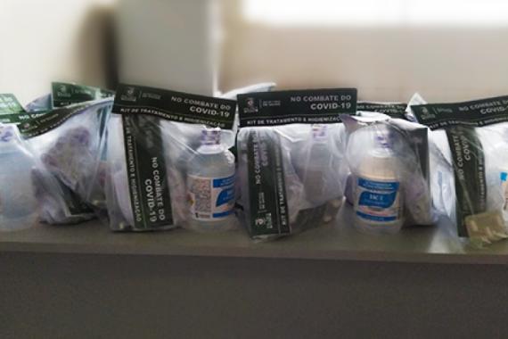 Prefeitura de Pilões disponibiliza kit de medicamentos para tratar o COVID-19