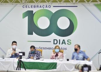 Prefeita Socorro Brilhante realiza live 100 dias e divulga 1 milhão em obras com recursos próprios